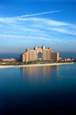 迪拜棕榈岛亚特兰蒂斯酒店(Atlantis the Palm Dubai)