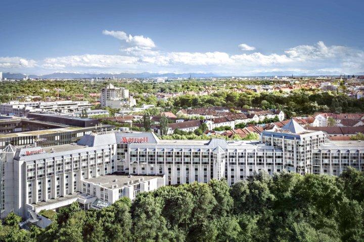 慕尼黑万豪酒店(Munich Marriott Hotel)
