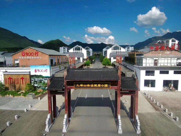 九华山茶溪健康小镇