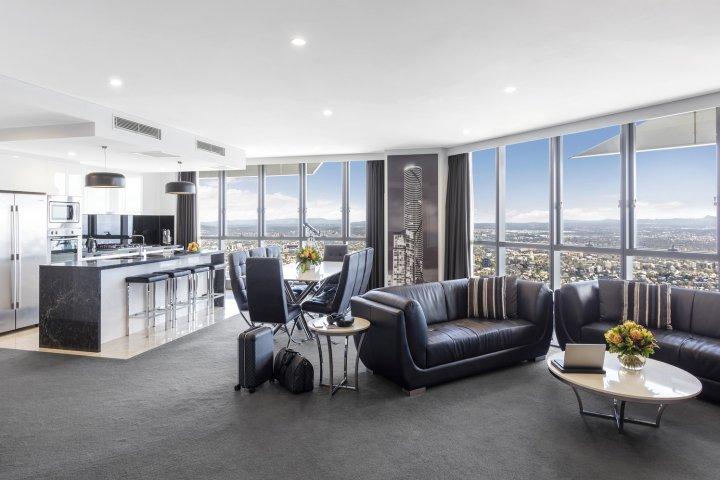 美利通套房酒店-赫歇尔街(Meriton Suites - Herschel Street, Brisbane)