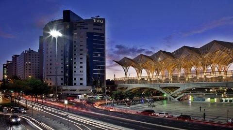 里斯本蒂沃利东方酒店(Tivoli Oriente Lisboa)