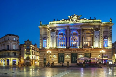 蒙彼利埃杜米地大酒店(Grand Hôtel du Midi Montpellier - Opéra Comédie)