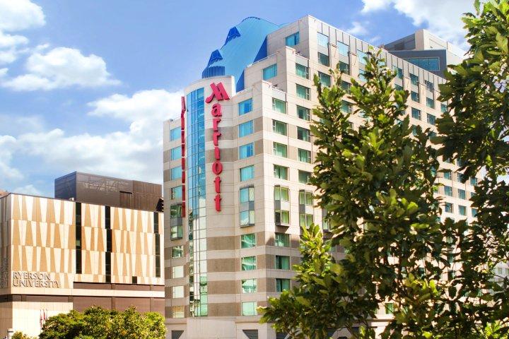 多伦多伊顿中心万豪酒店(Marriott Downtown at CF Toronto Eaton Centre)