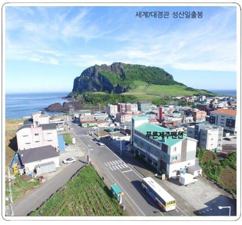 济州岛Preun旅馆(Preun Pension Jeju)