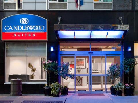 纽约时代广场烛木套房酒店(Candlewood Suites NYC -Times Square, an Ihg Hotel)