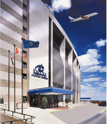 卡尔加里机场航站楼德尔塔酒店(Delta Hotels by Marriott Calgary Airport in-Terminal)
