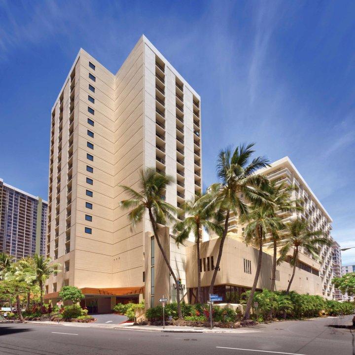 夏威夷·火奴鲁鲁威基基海滩凯悦嘉轩酒店(Hyatt Place Waikiki Beach Honolulu)