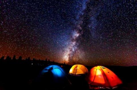敦煌梦幻星空沙漠露营基地