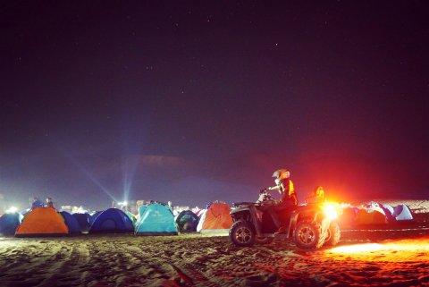 鸣沙山国际沙漠露营基地