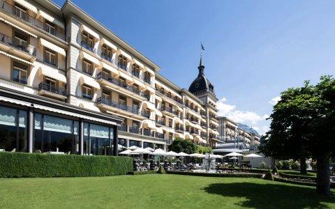 因特拉肯维多利亚少女峰水疗大酒店(Victoria Jungfrau Grand Hotel and Spa Interlaken)