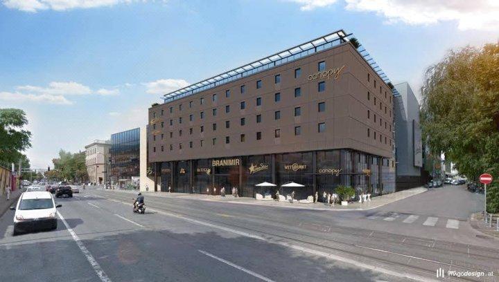 萨格勒布市中心希尔顿天空酒店(Canopy by Hilton Zagreb - City Centre)