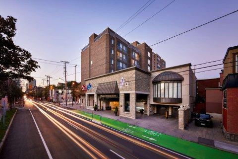 渥太华市中心贝斯特韦斯特优质酒店(Best Western Plus Ottawa Downtown Suites)