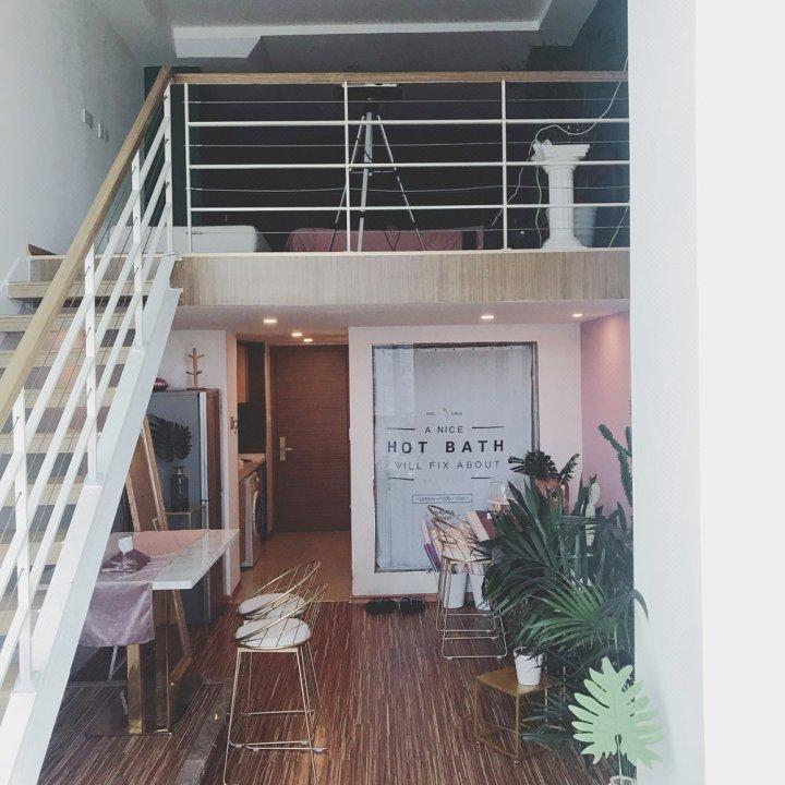 花河谷枕河而眠海河loft大床房公寓NO.2