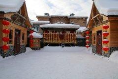 雪乡木屋农家小院宾馆