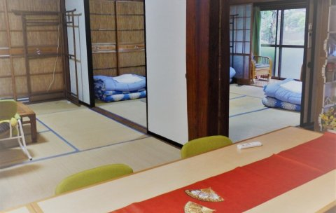 黎山旅屋(Minshuku Mariko is an Old Private House Convenient for Renting and Moving from 3 People)
