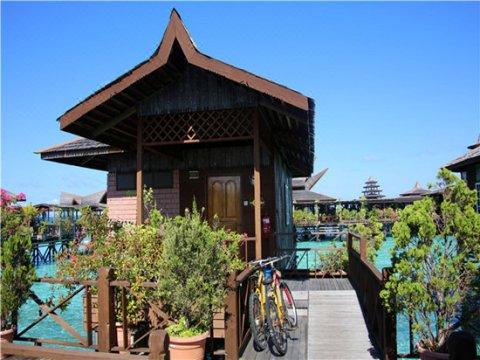 马步海上木屋(Mabul Water Bungalows)