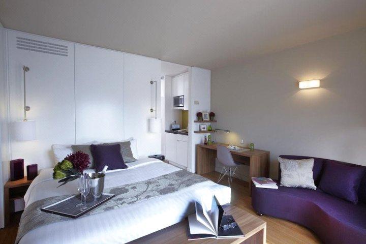 巴黎馨乐庭顶级酒店(Citadines les Halles Paris)