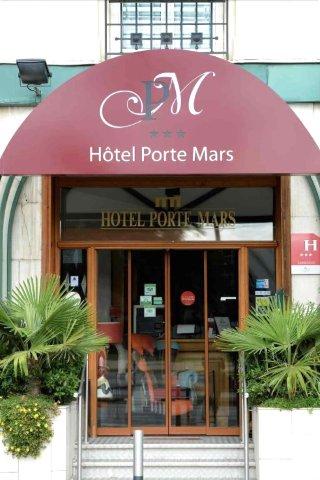 兰斯站中心海港酒店(Hôtel Porte Mars Reims Gare Centre)