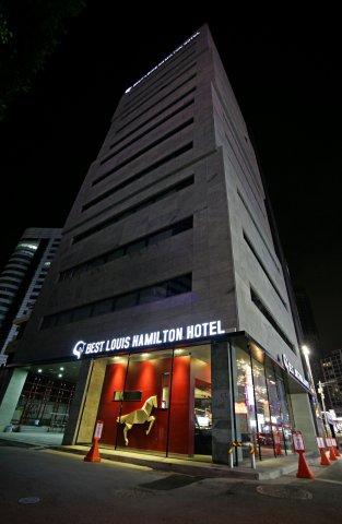 海云台路易斯汉密尔顿百斯特酒店(Best Louis Hamilton Hotel Haeundae)
