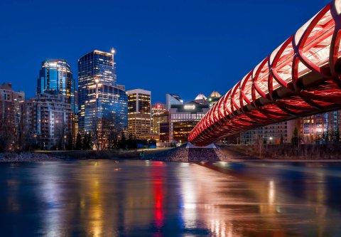 卡尔加里万豪城市中心酒店(Calgary Marriott Downtown Hotel)