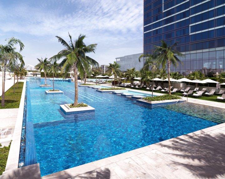 阿布扎比费尔蒙特巴布铝巴哈尔酒店(Fairmont Bab Al Bahr Abu Dhabi)
