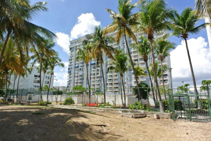 马贝拉德尔加勒比海滨公寓酒店(Marbella Del Caribe Beach Front Apt)