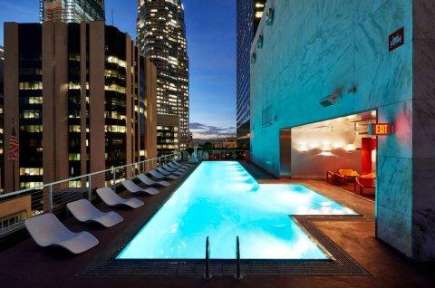 洛杉矶市中心设计酒店(The Standard, Downtown La)
