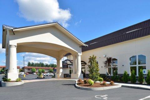 西雅图塔科马品质套房酒店(Quality Inn & Suites Tacoma - Seattle)