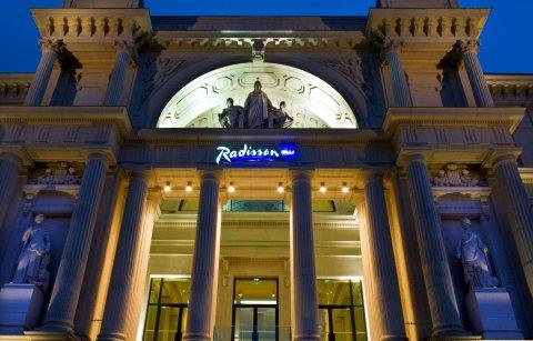 南特丽笙蓝标酒店(Radisson Blu Hotel Nantes)