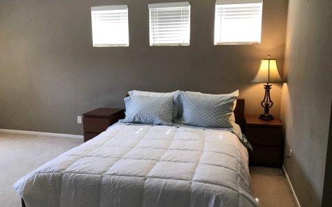E 旧金山硅谷超大主卧带独立卫生间(Single Room)