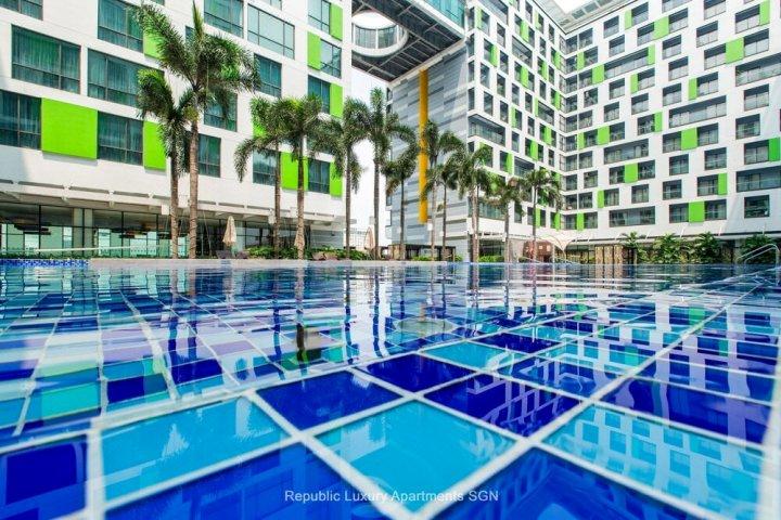 西贡机场共和公寓(Republic Apartments Saigon Airport)