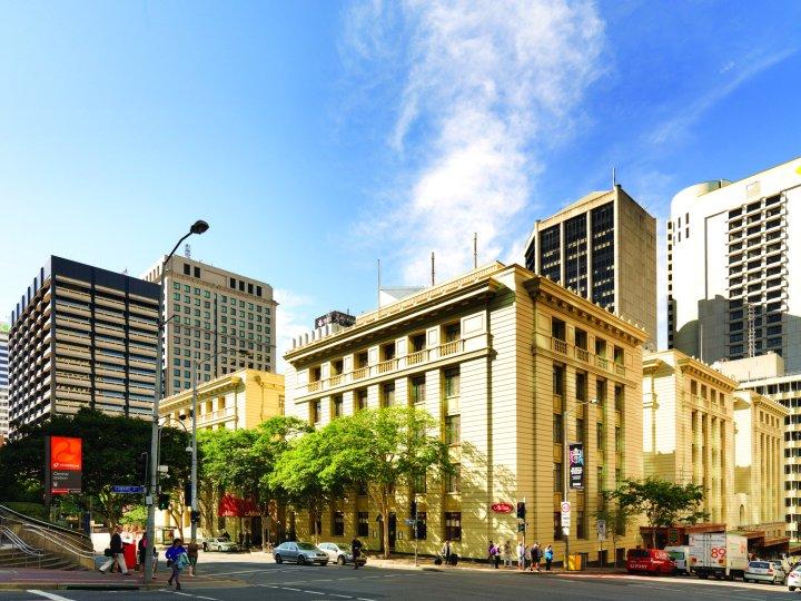 布里斯班安扎克广场阿迪娜酒店(Adina Apartment Hotel Brisbane Anzac Square)