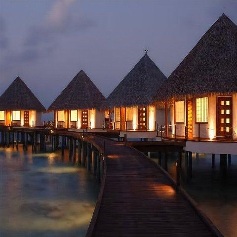 马尔代夫艾特肯斯彭斯酒店(Adaaran Prestige Water Villas Maldives)