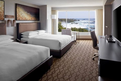 尼亚加拉瀑布瀑景万豪酒店及水疗中心(Niagara Falls Marriott Fallsview Hotel & Spa)