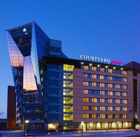 伊尔库茨克市中心万怡酒店(Courtyard by Marriott Irkutsk City Center Hotel)