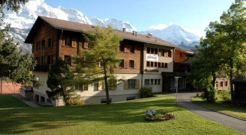 米伦运动小木屋酒店(Sportchalet Mürren)