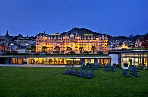费尔蒙特莱蒙特勒宫酒店(Fairmont le Montreux Palace)